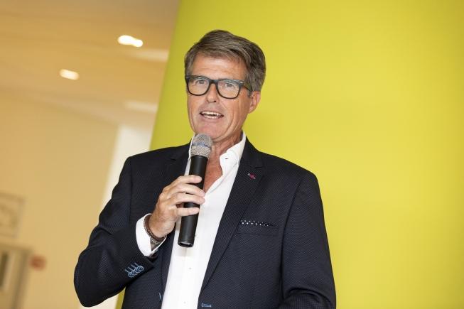 Willem Heemskerk en Bloemencorso Bollenstreek