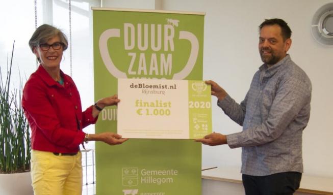 De Bloemist finalist voor Duurzaamheidsprijs