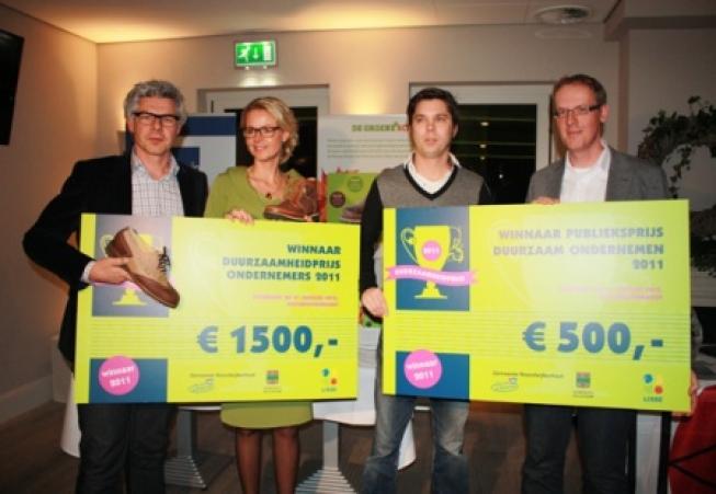 Kaptein Orthopedie winnaar Duurzaamheidprijs 2011